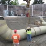 commercial/residential fiberglass reinforced pipe