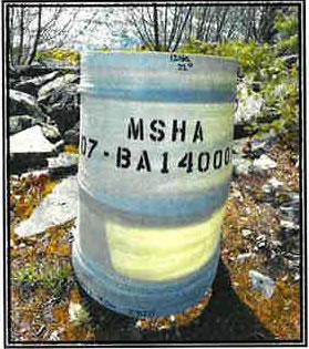 MSHA Mine Duct