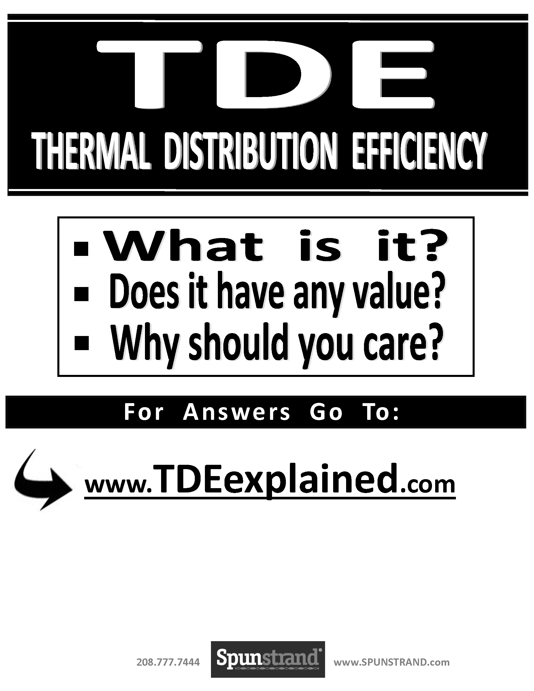 TDE Explained Click Here for the Report.